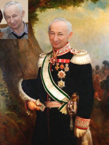 Где заказать исторический портрет по фото на холсте в Ереване?