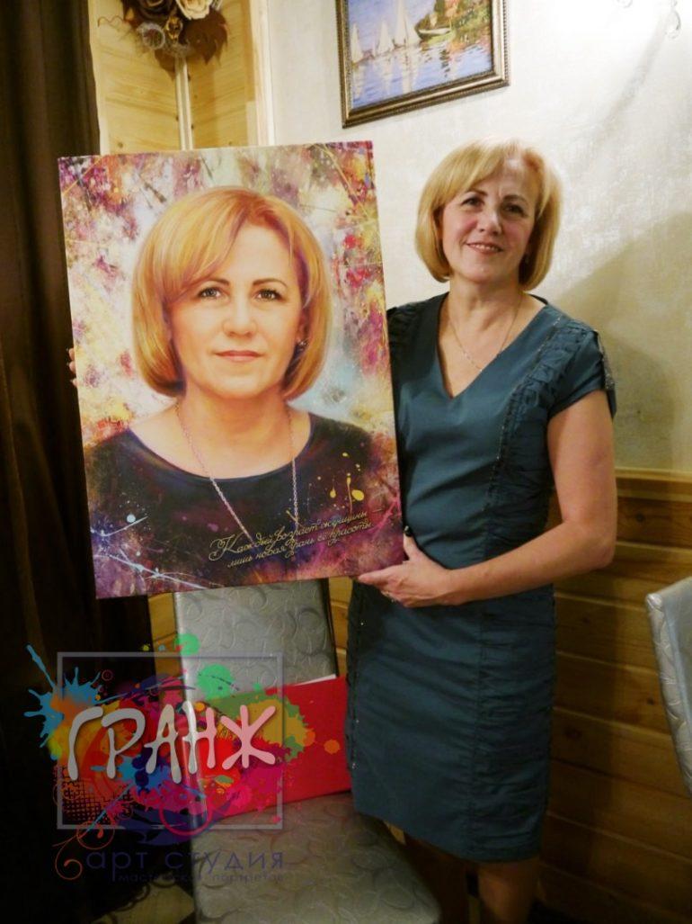 Портрет на заказ Ереван