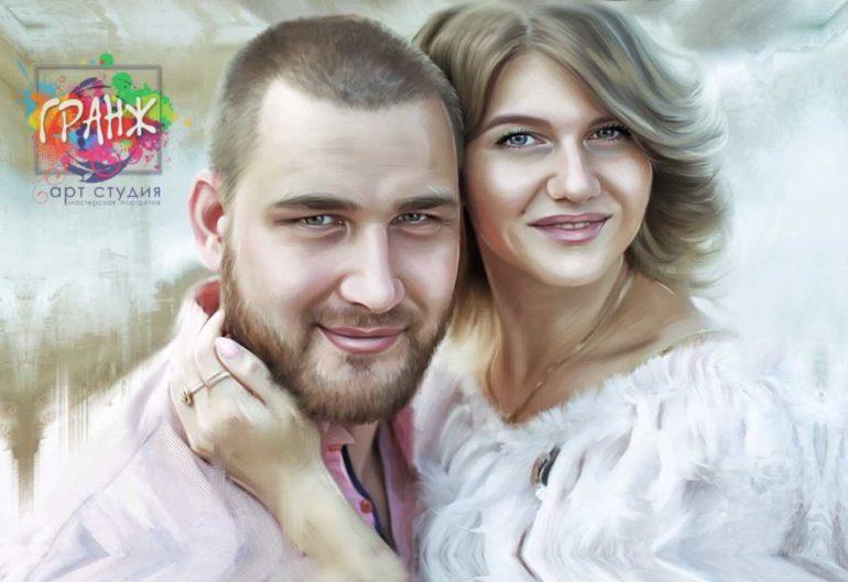 Где заказать портрет по фотографии на холсте в Ереване?
